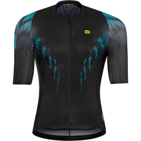 Alé Cycling R-EV1 Pro Race Shortsleeve Jersey Herre black-turquoise